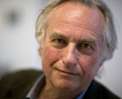 OXFORD, UNITED KINGDOM - MARCH 24: Richard Dawkins Author and evolutionary biologist, poses for a portrait at the Oxford Literary Festival, in Christ Church, on March 24, 2010 in Oxford, England. (Photo by David Levenson/Getty Images)